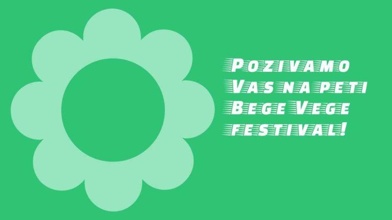 plakat pozivamo vas na BeGeVege festival