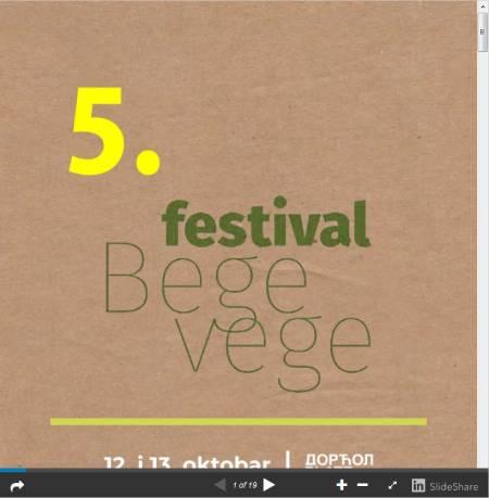 Prelistajte PDF brošuru sa 5.BeGeVege festivala >>